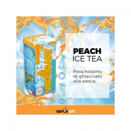 Vaporart PEACH ICE TEA 4mg (The alla Pesca e ghiaccio) Liquido 10ml