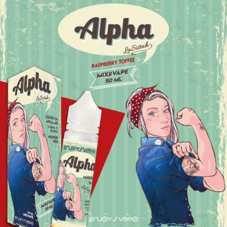 Liquido Mix&Vape ALPHA by LA SISTAH - Aroma 50ml Enjoy Svapo