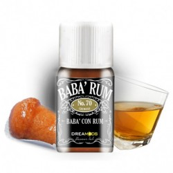 Dreamods Aroma concentrato NO.70 BABA' RUM (Babà, rum) 10ml