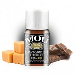 Dreamods NO.55 MOU (Snack, Caramello, Cioccolato) - Aroma concentrato 10ml