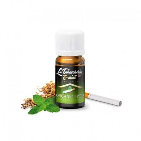 Tabacco E-Mint (tabacco e menta) - Linea Organic 4 Pod - La Tabaccheria - Aroma Concentrato 10ml