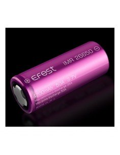 Efest 26650 - 4200-  mAh 50A batteria SENZA PIN per Big Battery