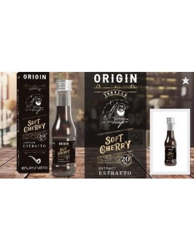 ENJOYSVAPO Soft Cherry Estratto ORIGIN Aroma 20ml by Il Santone dello Svapo